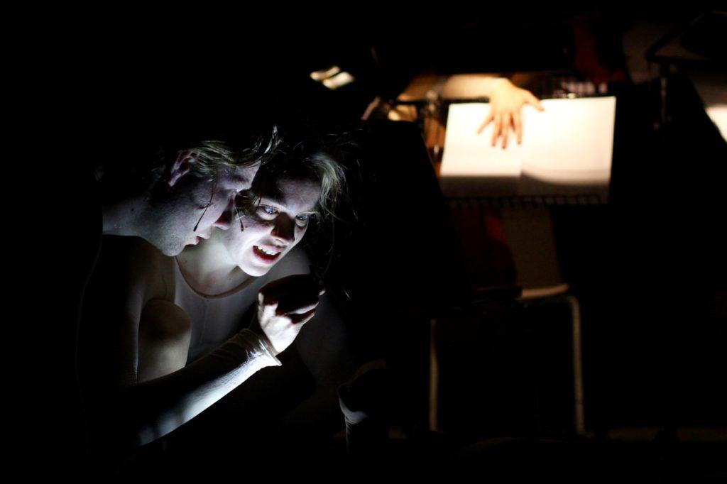 Die Braut... Probenfoto 05 (c) Christian Mair