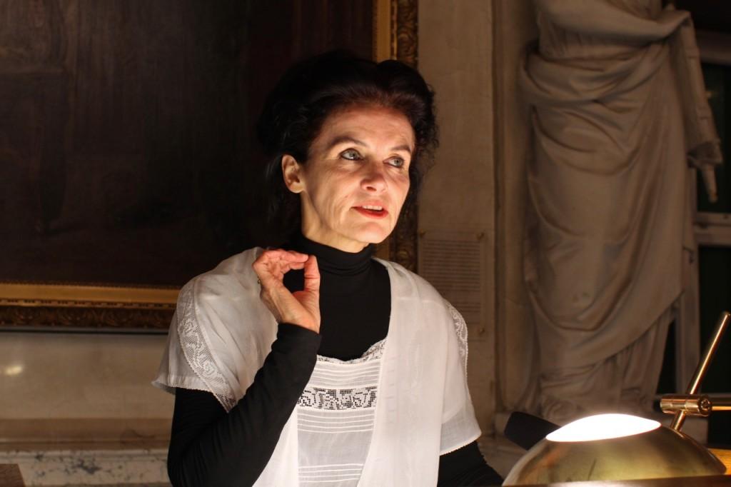 Doina Weber als Rosa Luxemburg (19.4.2016, Salon5 im Alten Rathaus)