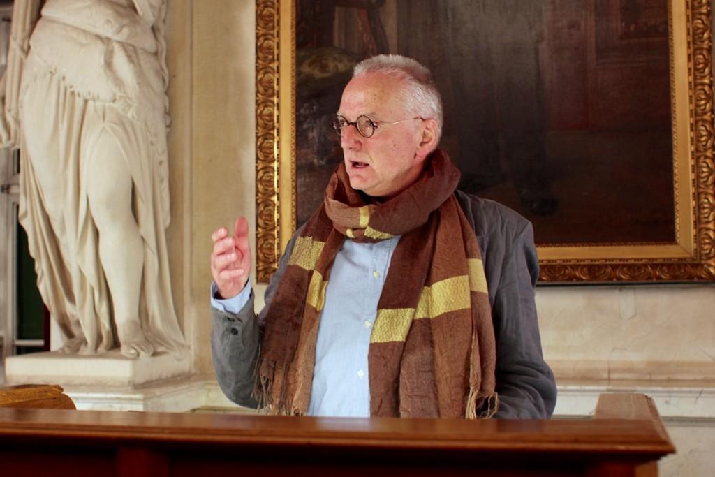Reden! (I): Horst Schily hält Navid Kermanis Rede zur Verleihung des Friedenspreises des Deutschen Buchhandels