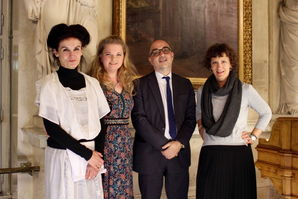 Doina Weber, Ulrike Beimpold, Ronald Pohl, Anna Maria Krassnigg (19.4.2016, Salon5 im Alten Rathaus)