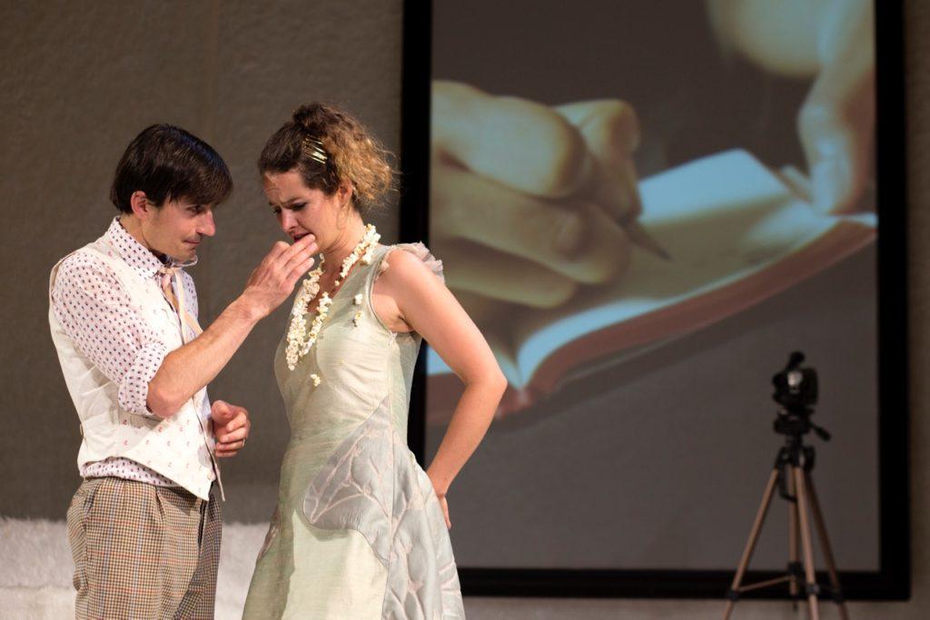Salon5 - Der Idiot - Daniel Kamen, Gioia Osthoff (c) Andrea Klem