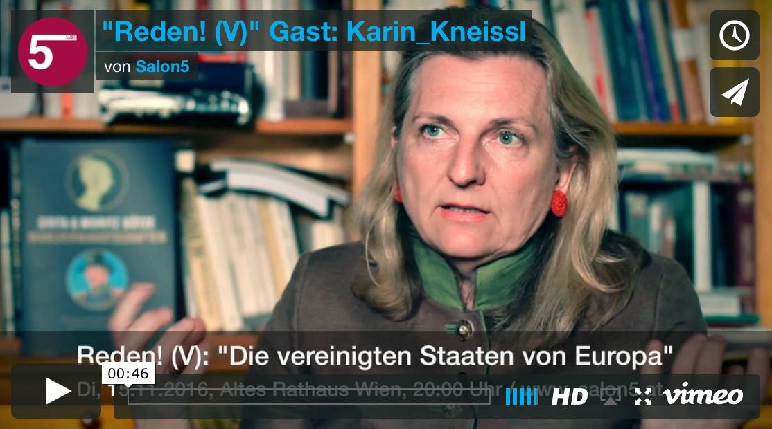 Gast: Karin Kneissl